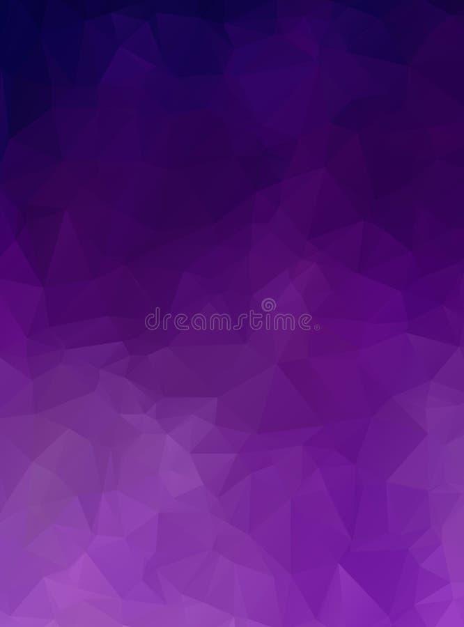 Fondo descolorido pálido triangulado abstracto del vector Modelo gris dinámico horizontal Textura geométrica moderno triángulos ilustración del vector