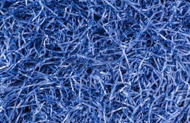 Fondo destrozado del papel azul fotografía de archivo libre de regalías
