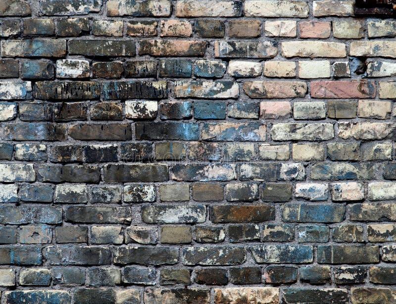 Fondo detallado #2 determinado de la pared de ladrillo imágenes de archivo libres de regalías