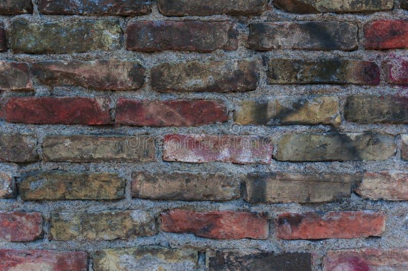 Fondo di Abstrack con il vecchio muro di mattoni immagini stock