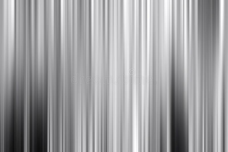 Fondo di astrattismo, stile d'argento grigio di moto della lega del metallo illustrazione di stock