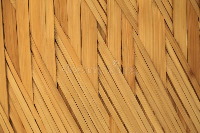 Fondo di bambù di struttura di tessitura immagini stock