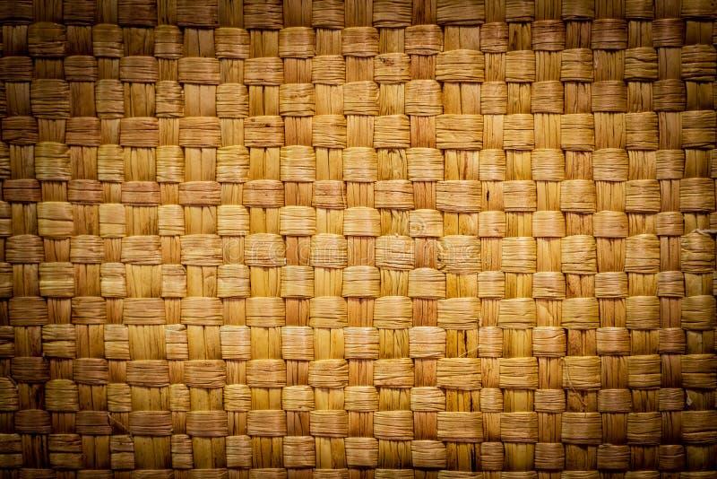 Fondo di bamb? di tessitura fotografia stock