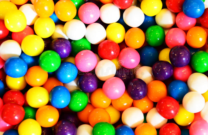 Fondo di bubblegum o di Gumball immagine stock