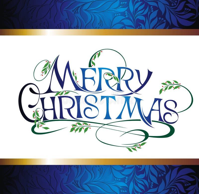 Fondo di Buon Natale illustrazione vettoriale