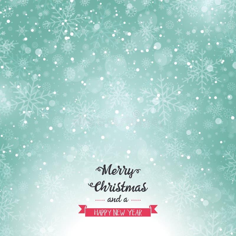 Fondo di Buon Natale royalty illustrazione gratis