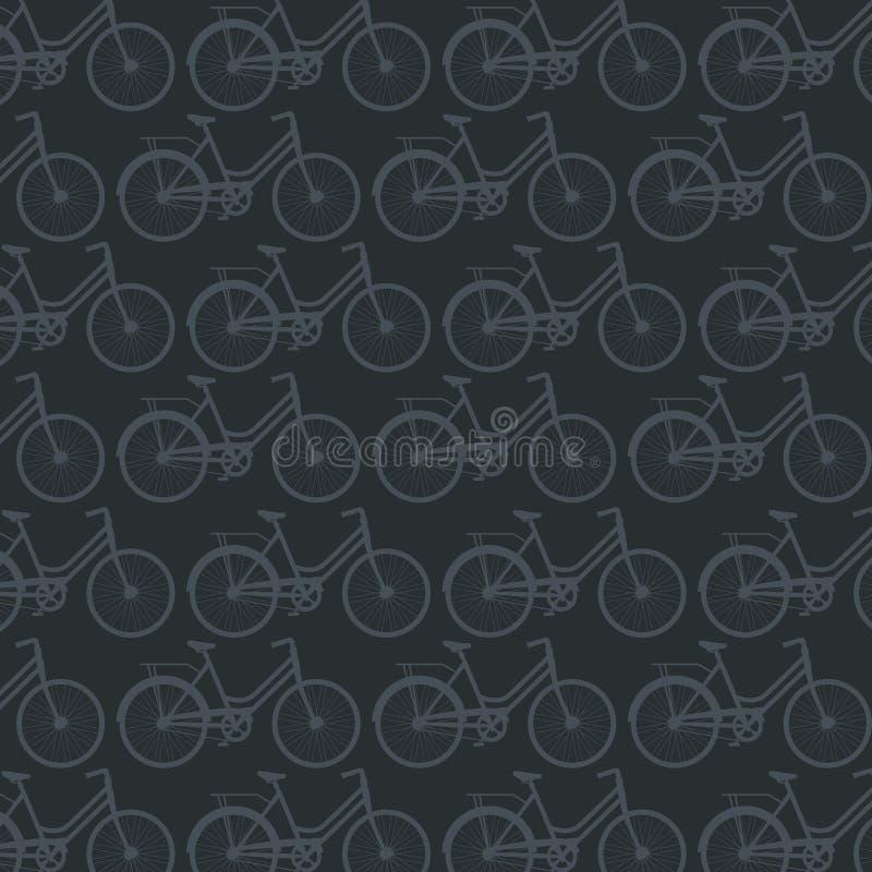 Fondo di caratteristica del veicolo di sport della bicicletta royalty illustrazione gratis