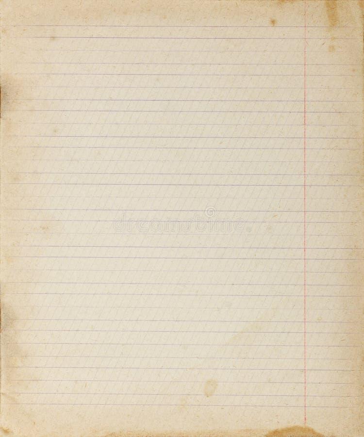 Fondo di carta allineato annata fotografia stock libera da diritti