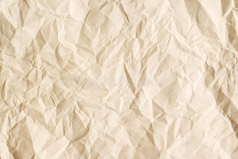 Fondo di carta dello strato invecchiato beige immagini stock