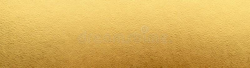 Fondo di carta di struttura dell'oro Fondo della parete dell'oro immagine stock libera da diritti