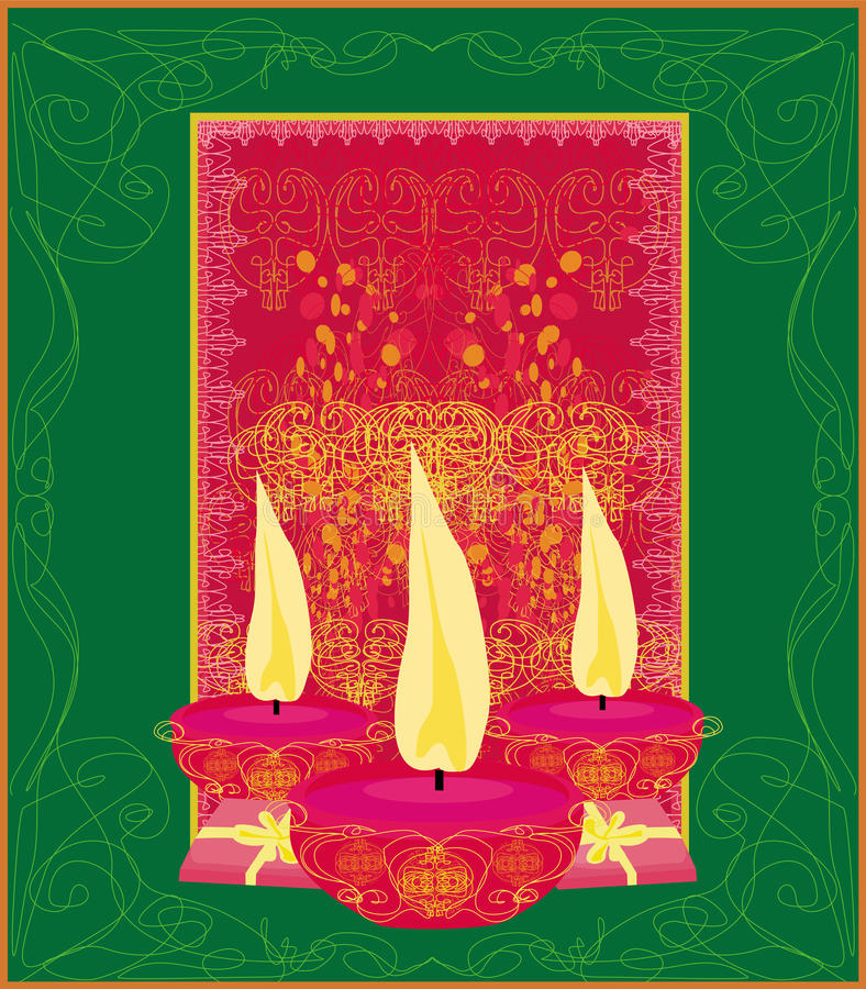 fondo di celebrazione di diwali, illustrazione royalty illustrazione gratis