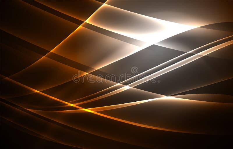 Fondo di concetto delle luci polari di vettore royalty illustrazione gratis