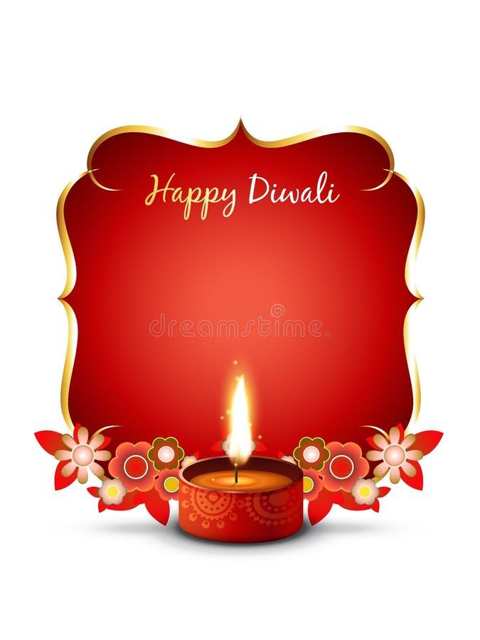 Fondo di Diwali royalty illustrazione gratis