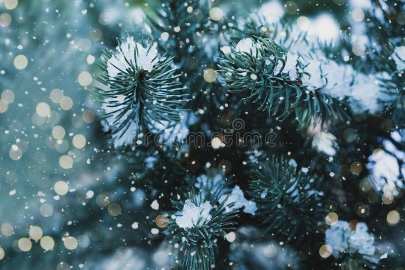 Fondo di festa del nuovo anno e di Natale immagini stock