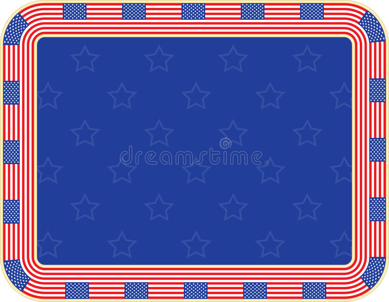 Fondo di festa dell'indipendenza illustrazione di stock