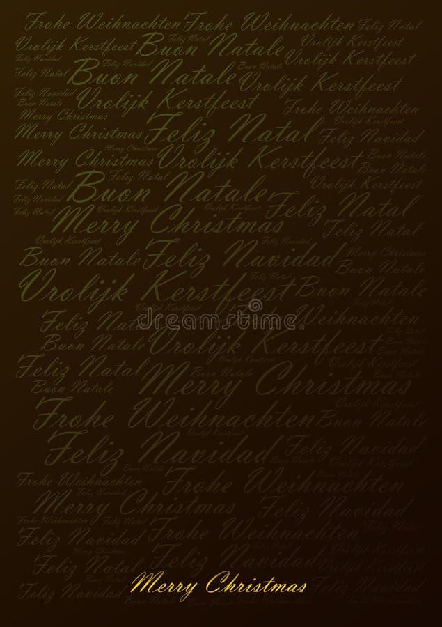 Fondo di festa di Buon Natale royalty illustrazione gratis