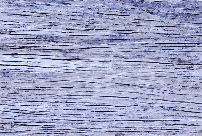 Fondo di festa di lerciume della pittura dell'acquerello di vecchie plance di legno immagine stock libera da diritti