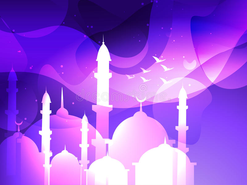 Fondo di festival di Eid royalty illustrazione gratis