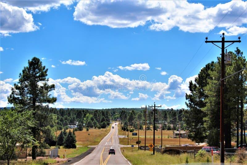 Fondo di giro della riunione di libertà della posta 86 della legione americana - allevatore in Arizona del Nord, Stati Uniti immagini stock