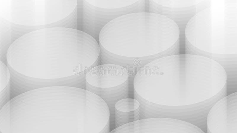fondo di grey 3d Vettore eps10 illustrazione di stock