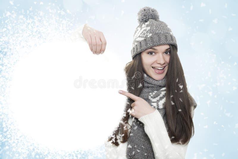 Fondo di inverno. fotografia stock
