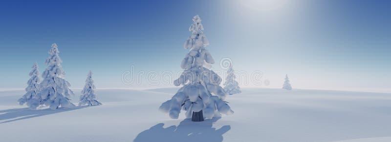 Fondo di inverno immagini stock libere da diritti