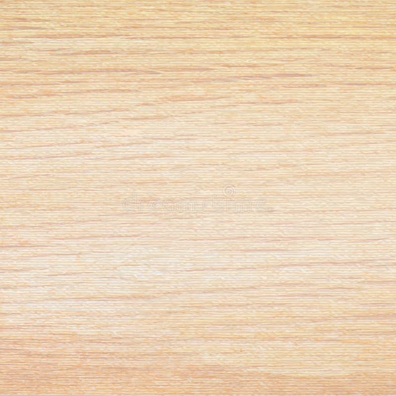 Fondo di legno beige leggero di struttura Modello naturale del campione del modello Illustrazione di vettore illustrazione vettoriale
