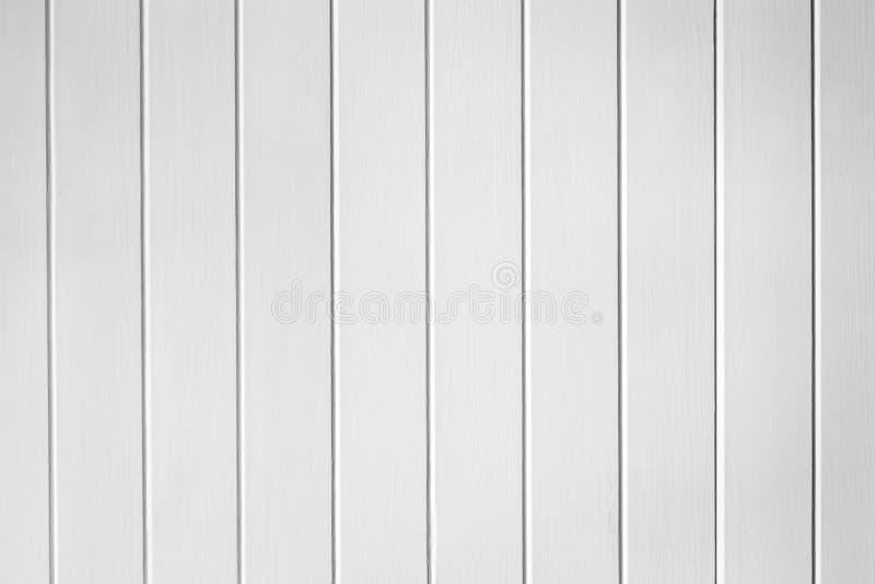 Fondo di legno bianco di struttura della pannellatura fotografia stock