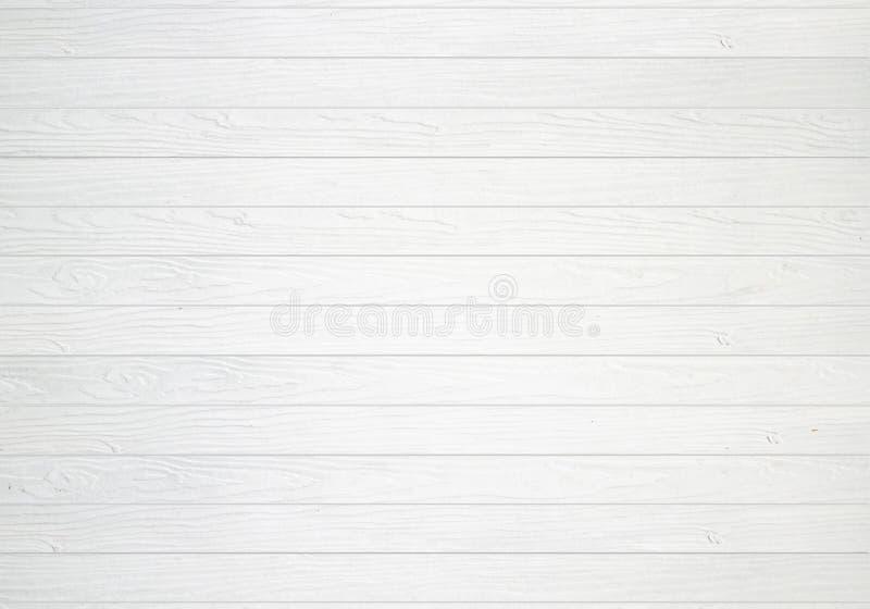 Fondo di legno bianco di struttura della parete fotografie stock libere da diritti