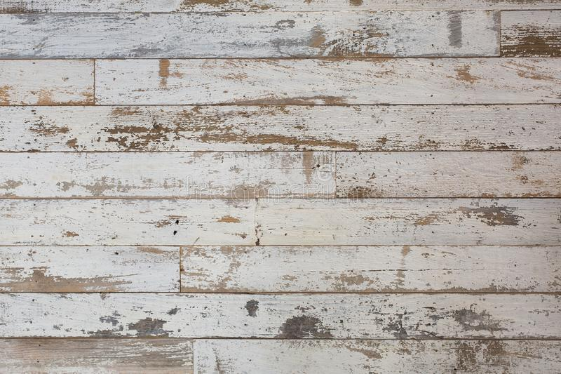 Fondo di legno bianco/grigio di struttura con i modelli naturali Pavimento fotografie stock libere da diritti