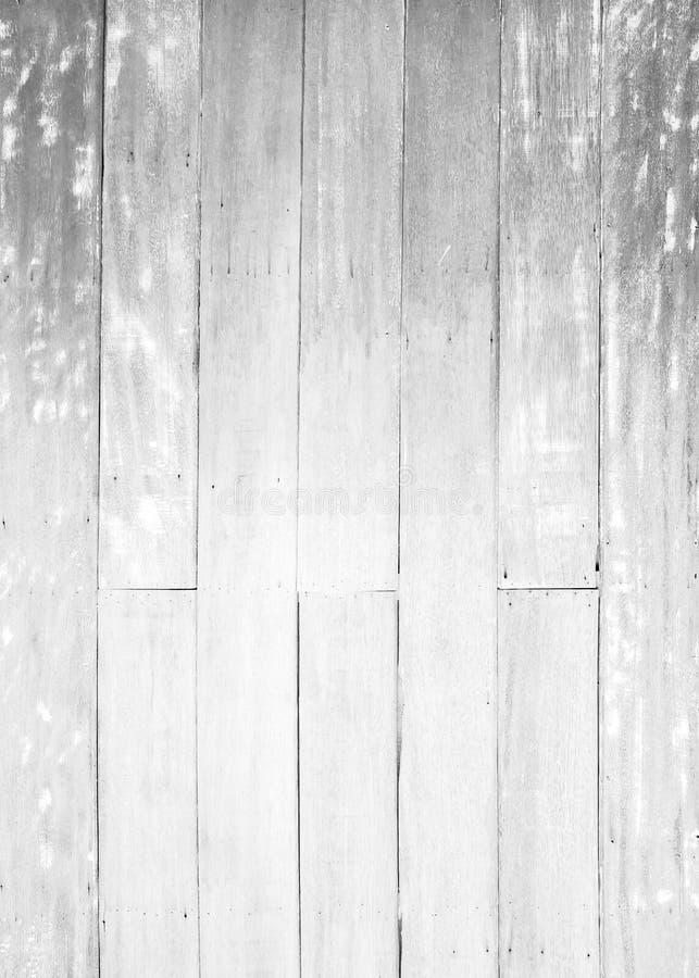 Fondo di legno bianco di struttura del pavimento parete dipinta pastello della superficie del modello della plancia; immagine stock libera da diritti
