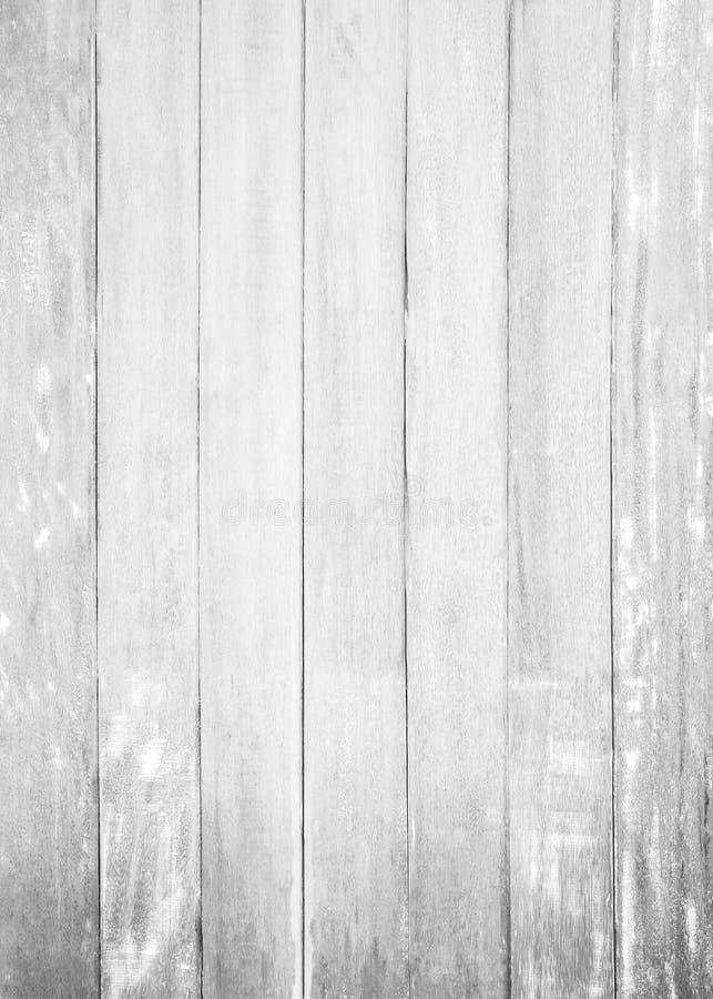 Fondo di legno bianco di struttura del pavimento parete dipinta pastello della superficie del modello della plancia; immagini stock libere da diritti