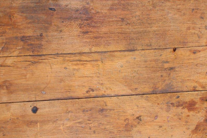 Fondo di legno del grano della plancia di struttura, tavola di legno dello scrittorio o pavimento fotografia stock