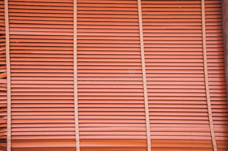 Fondo di legno del pannello dei paraocchi fotografia stock libera da diritti