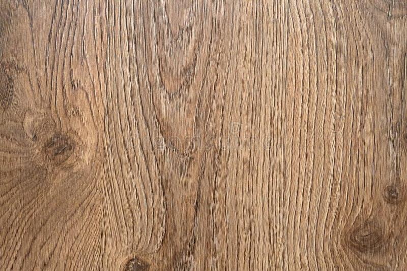 Fondo di legno della pavimentazione di Brown Parquet di legno Pavimentazione laminata fotografie stock