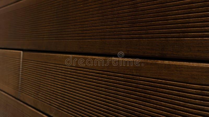 Fondo di legno delle plance di Brown, modello di legno, struttura del legname per Hardwood Flooring Company, il negozio del carpe immagini stock