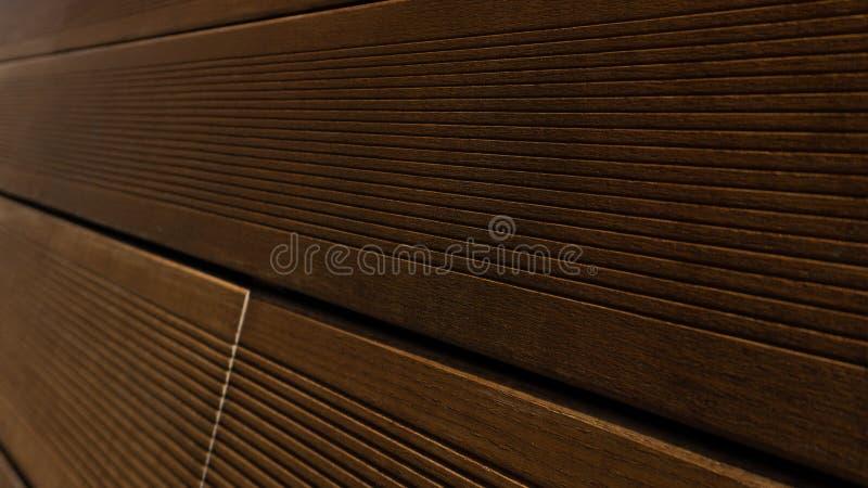 Fondo di legno delle plance di Brown, modello di legno, struttura del legname per Hardwood Flooring Company, il negozio del carpe fotografie stock libere da diritti