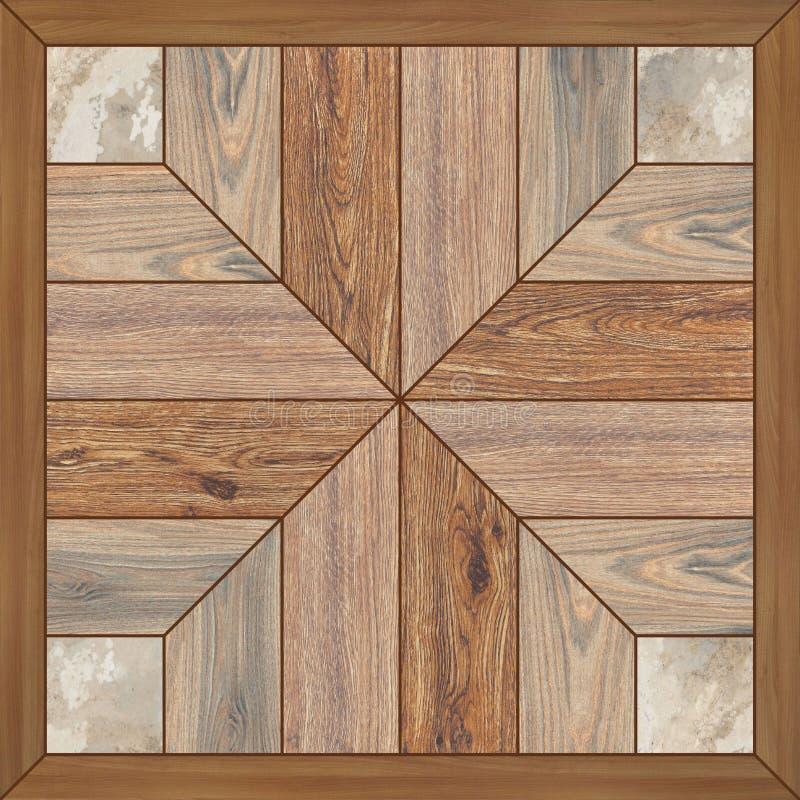 Fondo di legno di alta risoluzione di struttura del pavimento fotografia stock