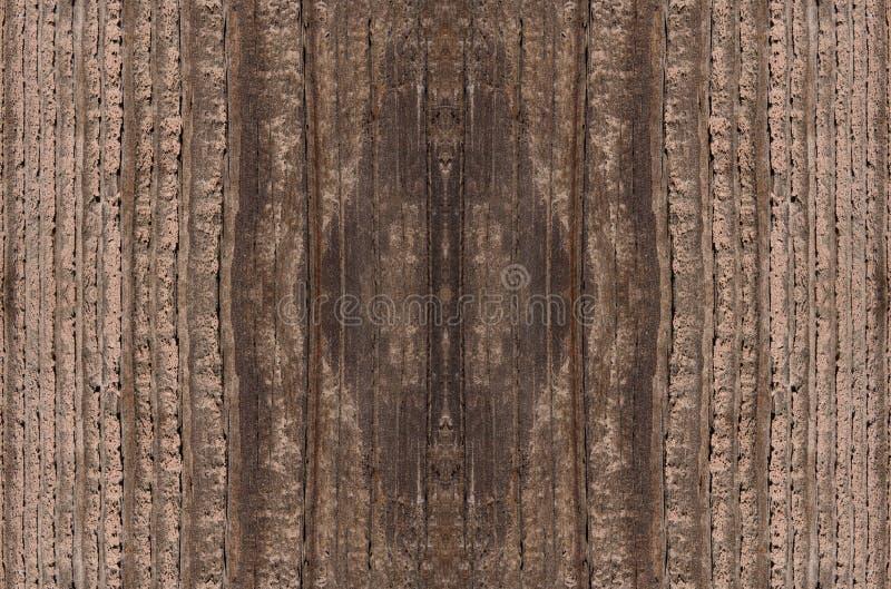 Fondo di legno di dimensione di colore scuro di struttura grande immagine stock libera da diritti