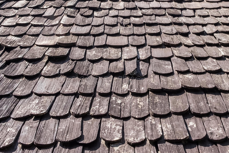 Fondo di legno di struttura del tetto immagine stock libera da diritti