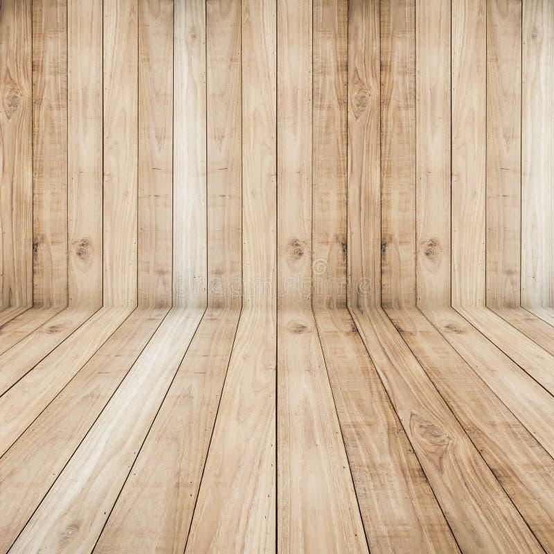 Fondo di legno di struttura delle plance dei grandi pavimenti marroni fotografie stock libere da diritti
