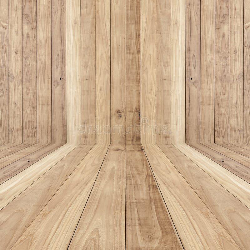 Fondo di legno di struttura delle plance dei grandi pavimenti marroni fotografie stock