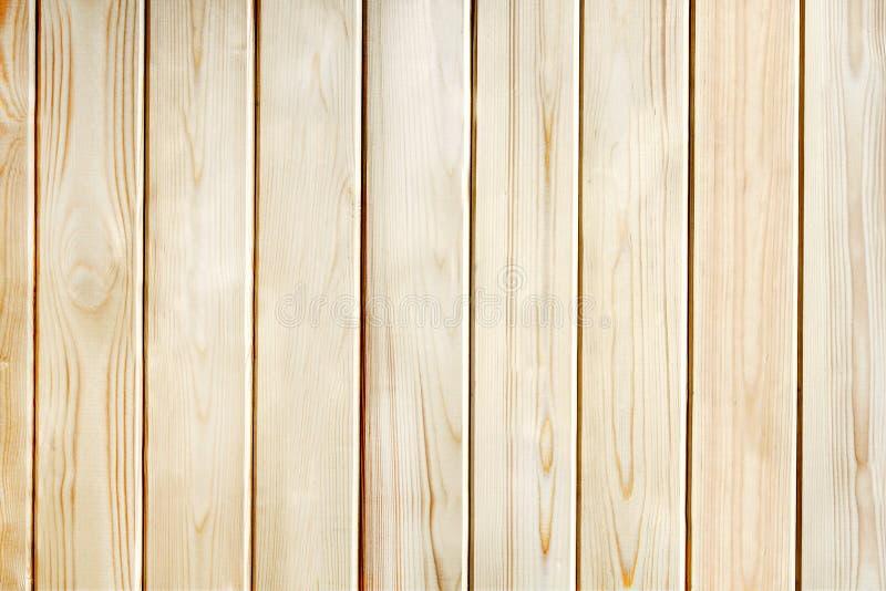 Fondo di legno di struttura di marrone della plancia del pino immagini stock