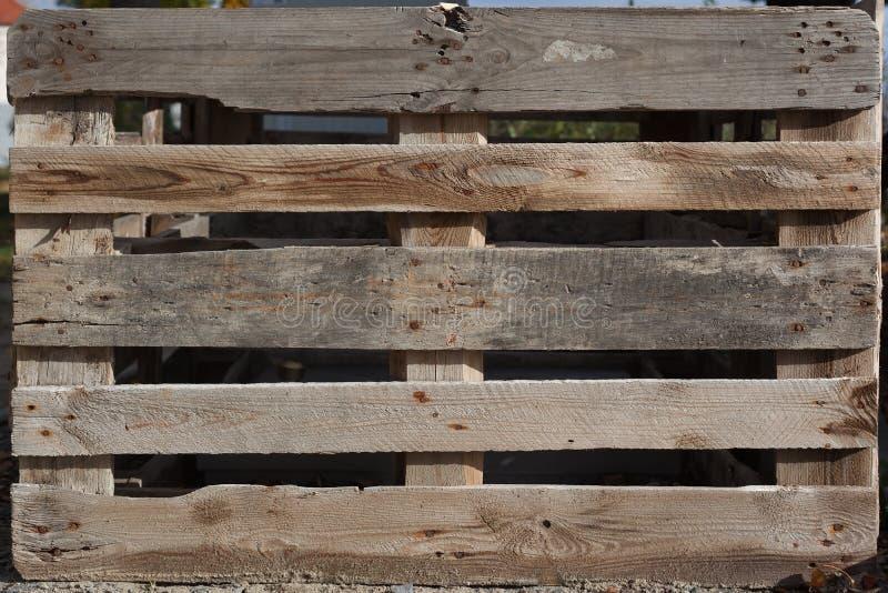 Fondo di legno di struttura, euro tavolozza fotografie stock