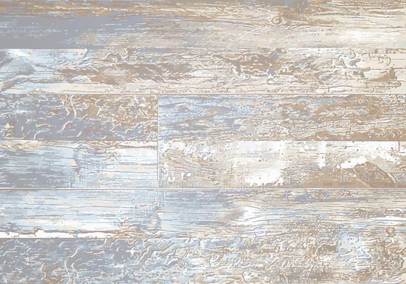 Fondo di legno di struttura Illustrazione di vettore illustrazione vettoriale