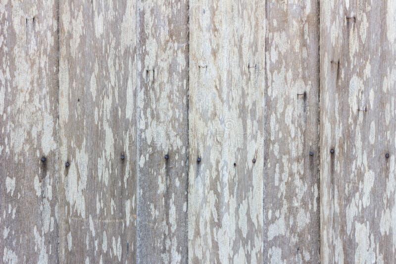 Fondo di legno grigio Grungy di struttura della parete della plancia fotografie stock