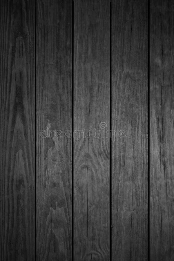Fondo di legno grigio scuro delle plance fotografia stock libera da diritti