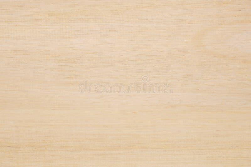 Fondo di legno marrone chiaro di struttura fotografia stock