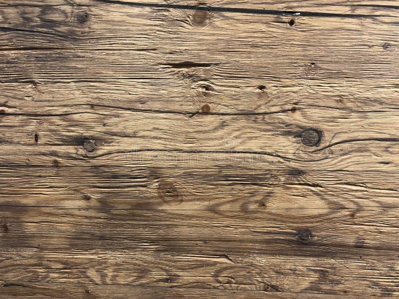 Fondo di legno marrone naturale vuoto immagini stock libere da diritti