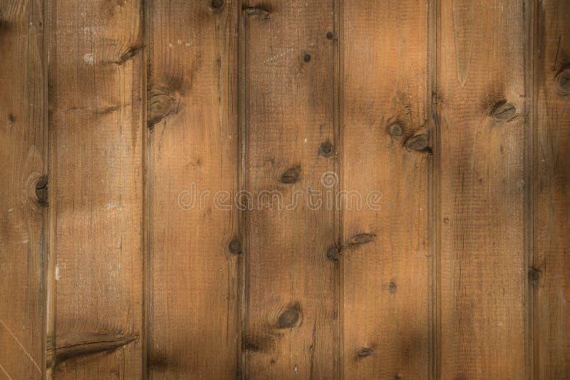 Fondo di legno naturale Vista superiore della superficie di legno della tavola fotografia stock libera da diritti
